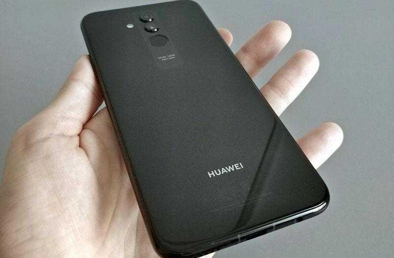 Huawei Mate 20 Lite дизайн