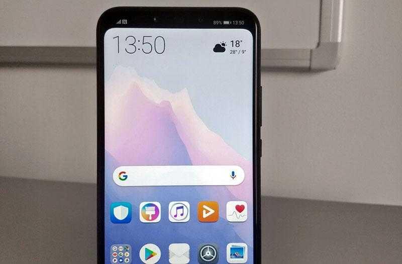 Huawei Mate 20 Lite без чёлки