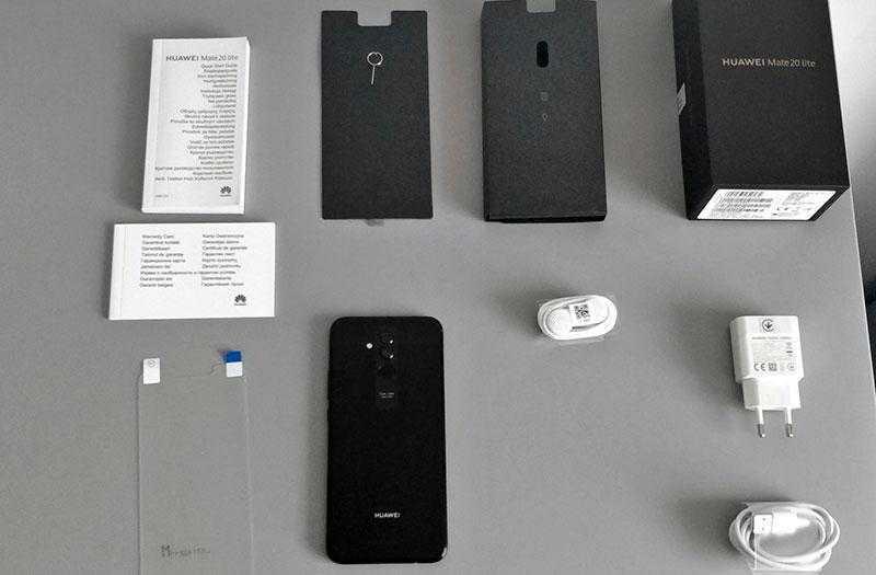 Huawei Mate 20 Lite комплект