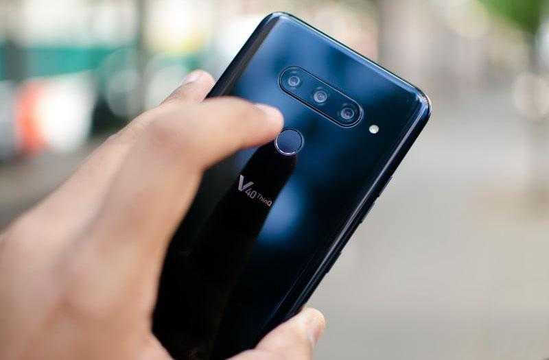 Смартфон LG V40 ThinQ
