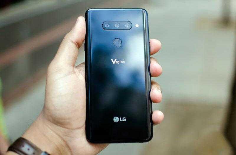 Производиельность LG V40 ThinQ