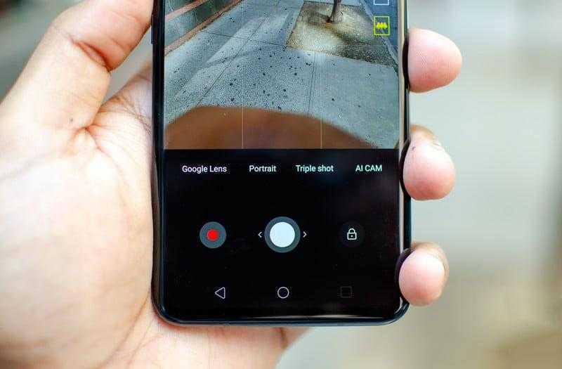 LG ThinQ V40 камеры