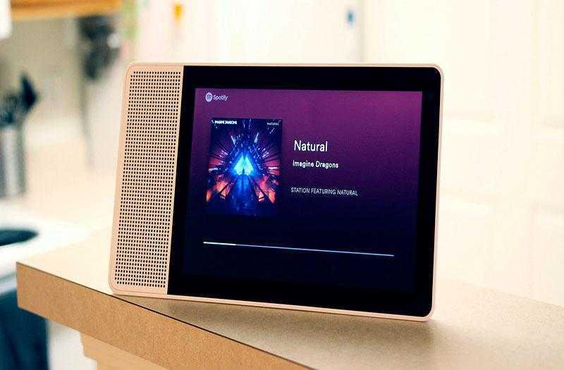 Lenovo Smart Display звук