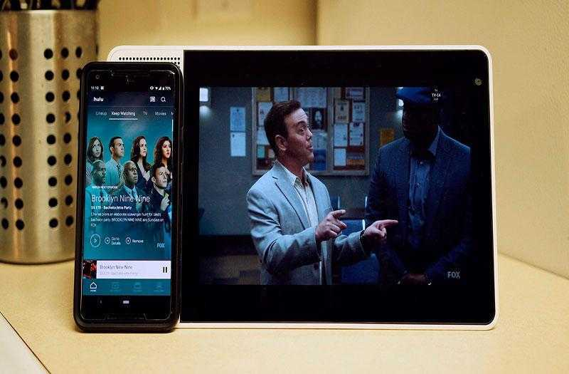 Lenovo Smart Display просмотр фильмов