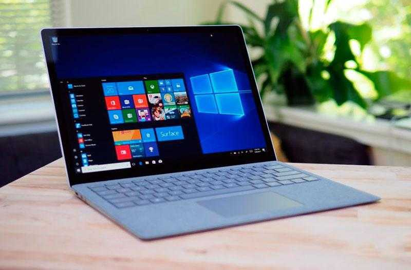 Microsoft Surface Laptop ПО