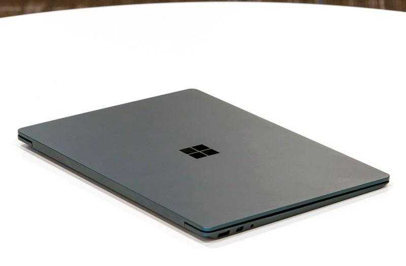 Microsoft Surface Laptop конструкция
