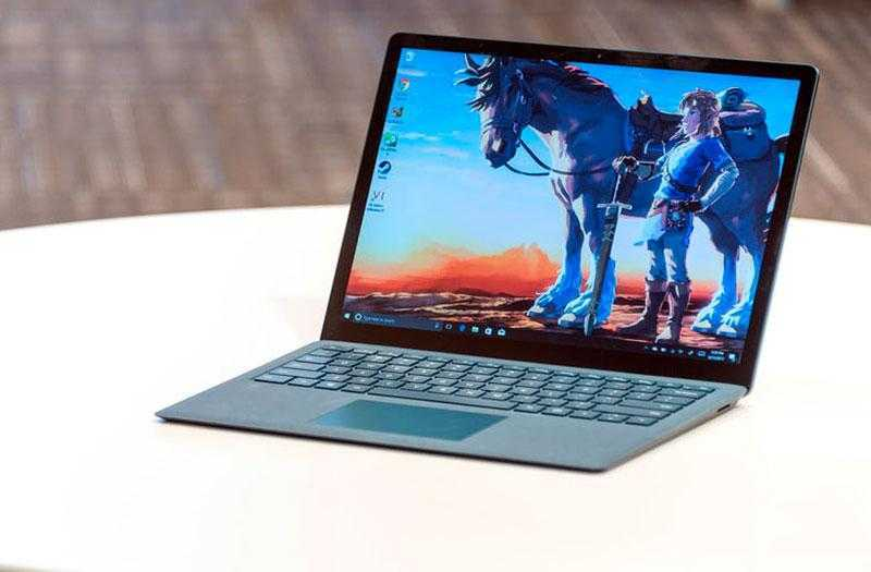 Microsoft Surface Laptop экран