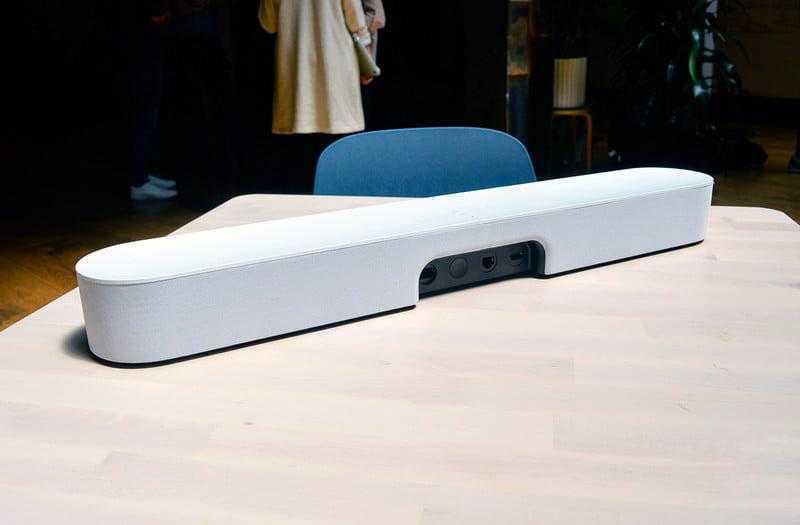 Sonos Beam голосовое управление