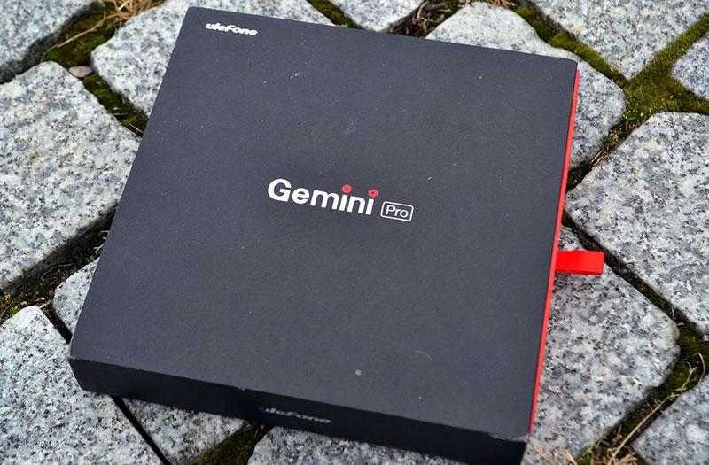 UleFone Gemini Pro коробка