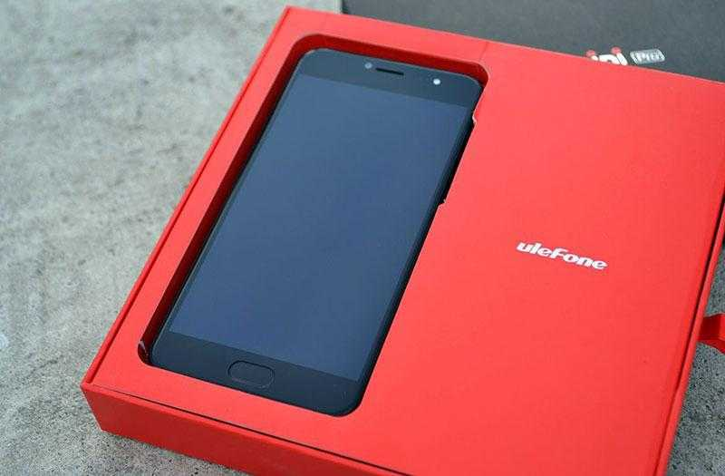 UleFone Gemini Pro в коробке