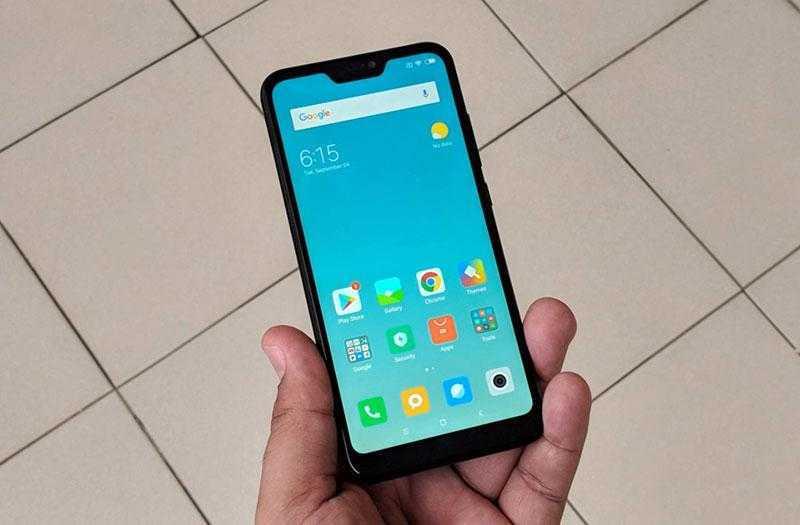 Xiaomi Redmi 6 Pro дизайн