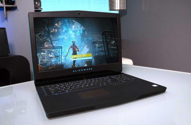 Alienware 17 R5 в играх
