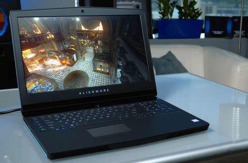Производительность Alienware 17 R5