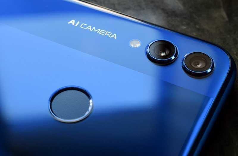 Honor 8X камера