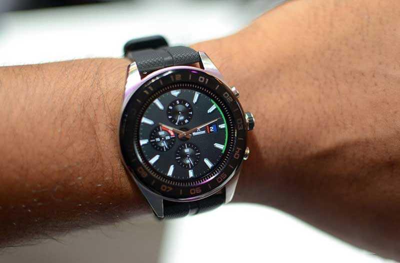 Обзор LG Watch W7