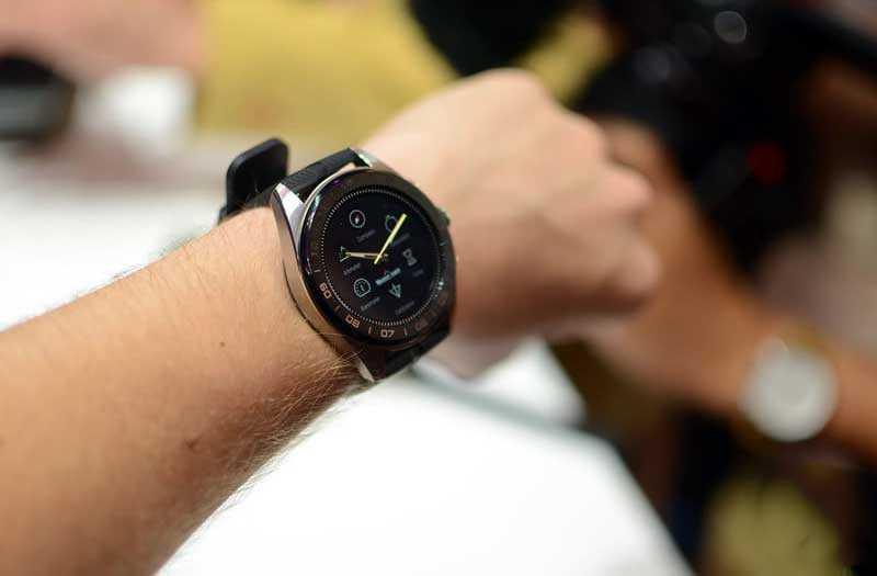 LG Watch W7 в работе