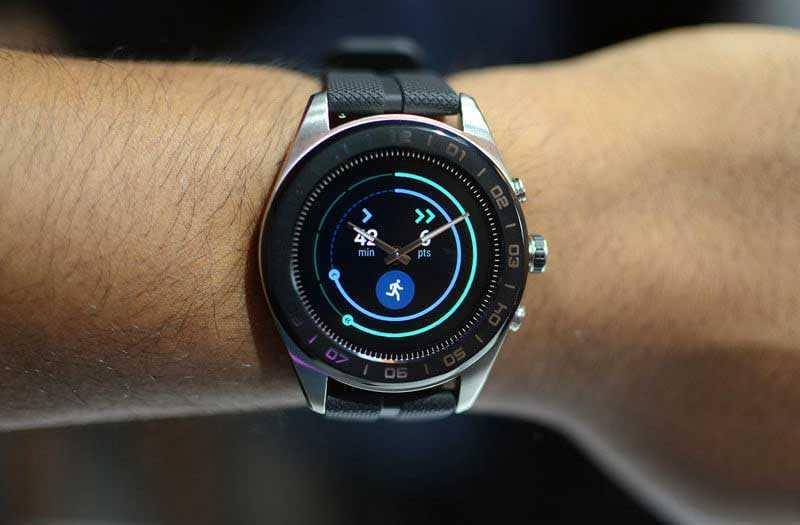Тест LG Watch W7
