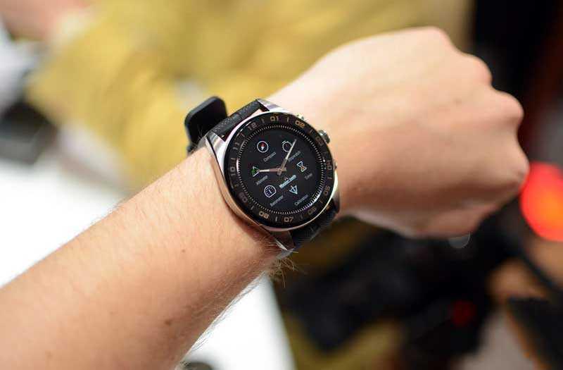 часы LG Watch W7