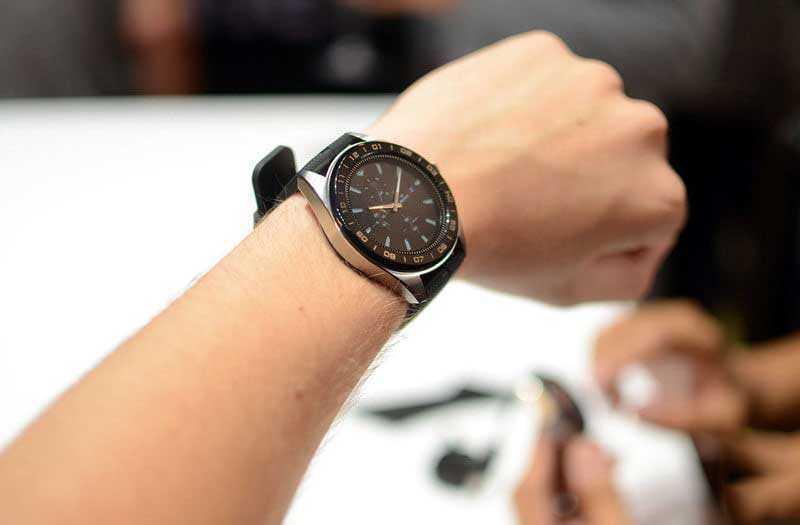 LG Watch W7 гибридные часы
