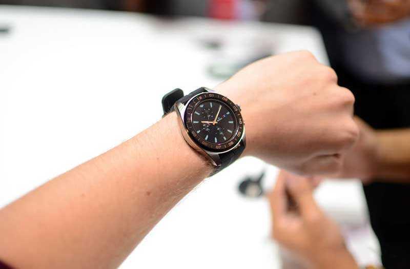 умные часы LG Watch W7