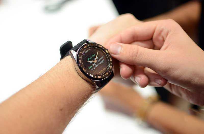 LG Watch W7 управление