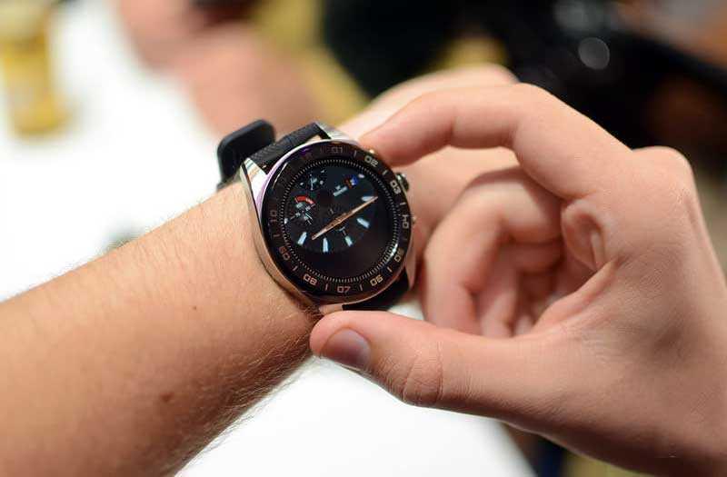 Экран LG Watch W7
