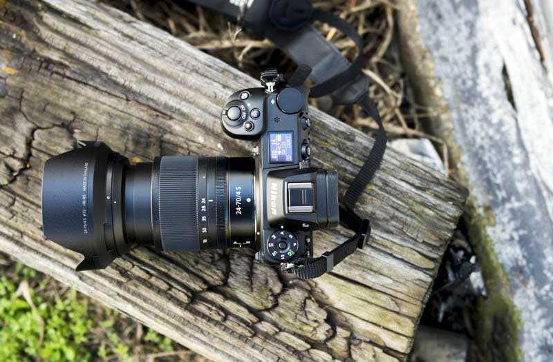 Nikon Z7 в работе