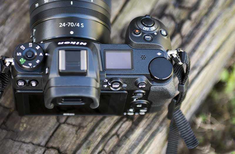 Управление Nikon Z7