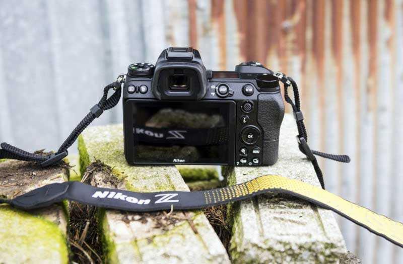 Nikon Z7 видоискатель