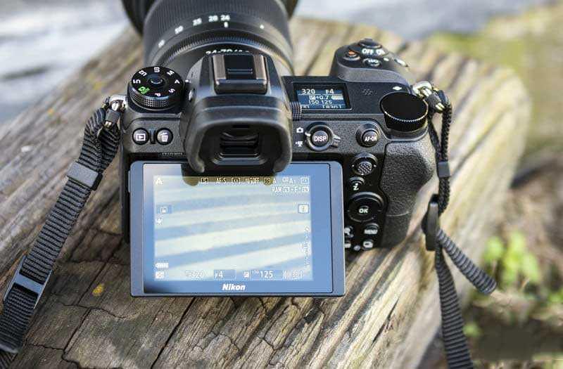 Экран Nikon Z7