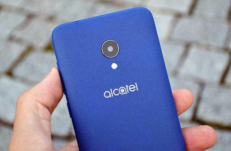 Alcatel 1X камера