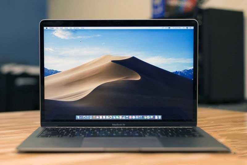 Apple MacBook Air (2018) дисплей