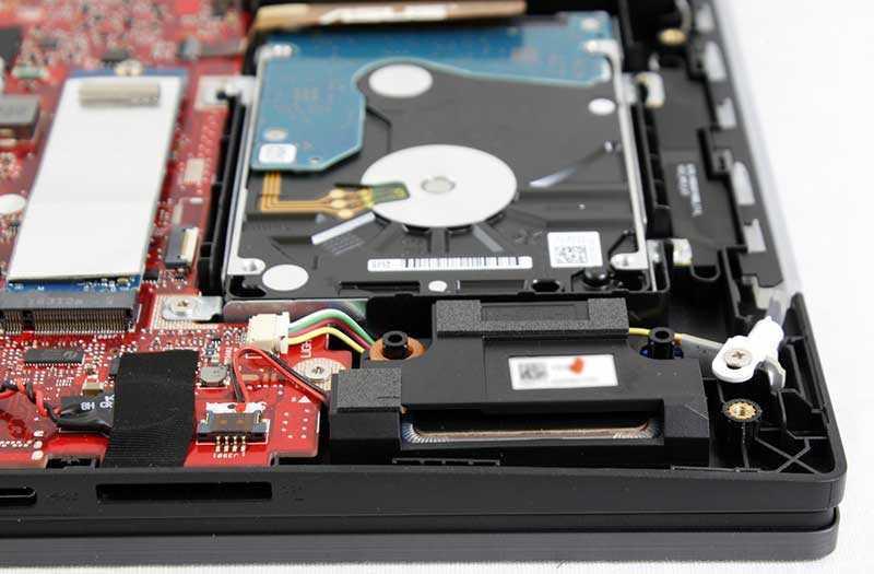 Asus ROG Strix Scar II жесткий диск и SSD