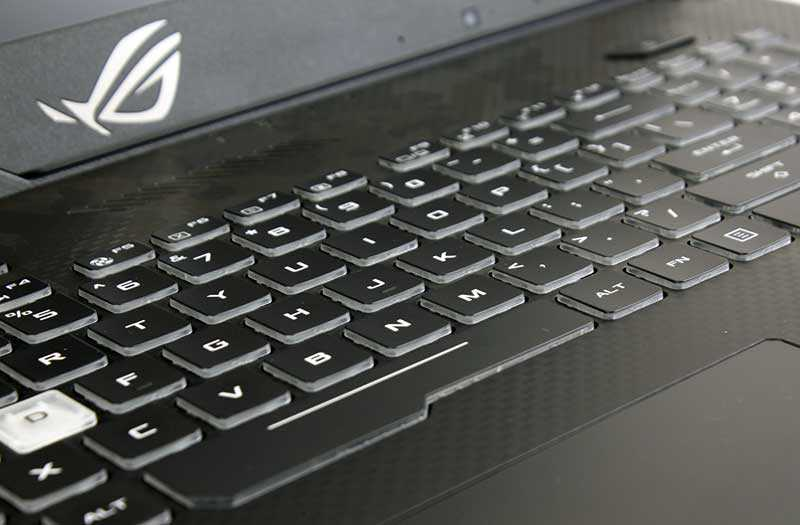 Клавиатура Asus ROG Strix Scar II GL704GM