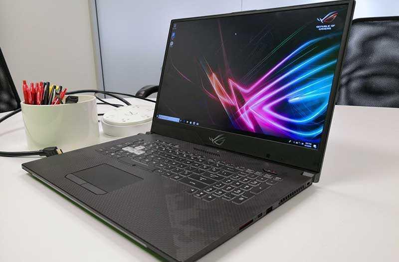 Обзор Asus ROG Strix Scar II GL704: мощный ноутбук — Отзывы TehnObzor