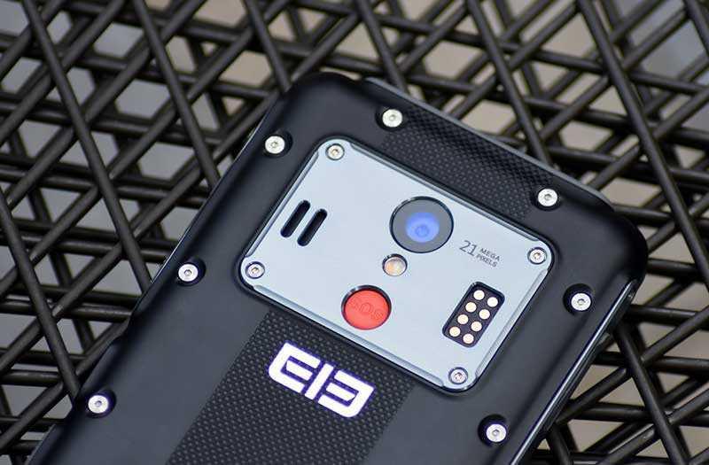 Камера ELEPHONE Soldier
