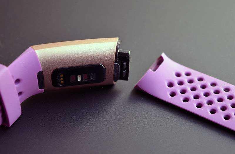 Fitbit Charge 3 конструкция
