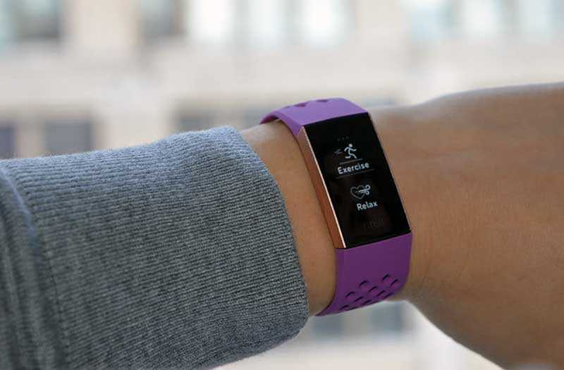 Fitbit Charge 3 дизайн