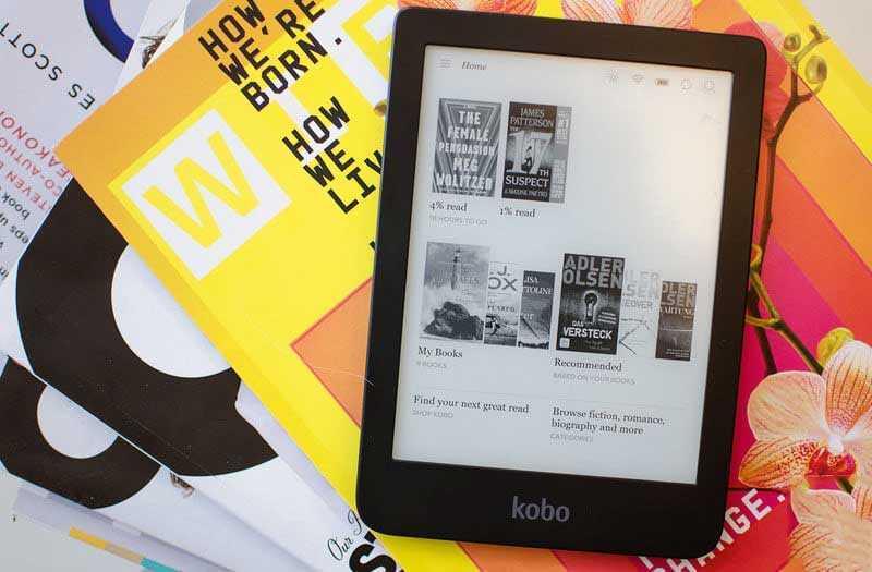 Kobo Clara HD — эргономичный дизайн