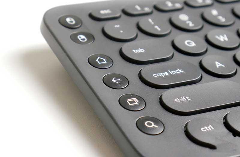 Logitech K600 наборы кнопок