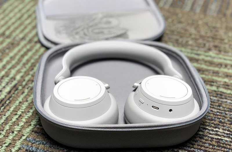 Дизайн Microsoft Surface Headphones дизайн