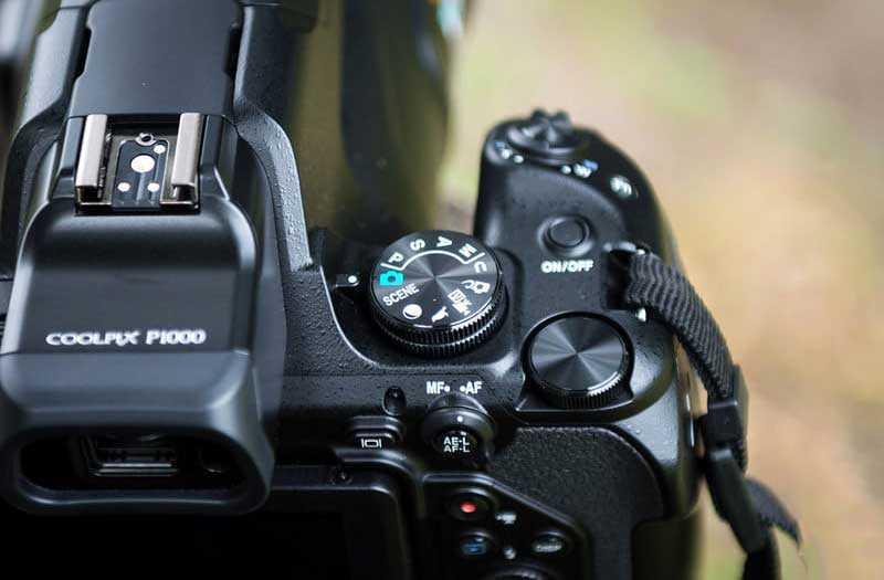 Nikon Coolpix P1000 Элементы управления