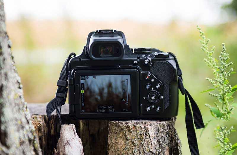 Nikon Coolpix P1000 интерфейс