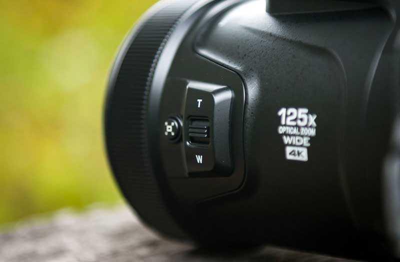 Управление Nikon Coolpix P1000