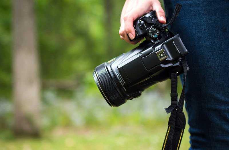 Nikon Coolpix P1000 удобство