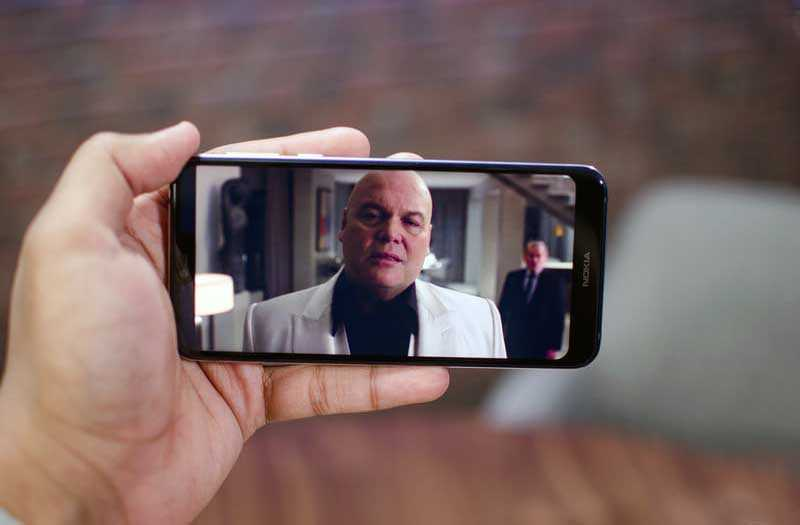 Экран Nokia 7.1