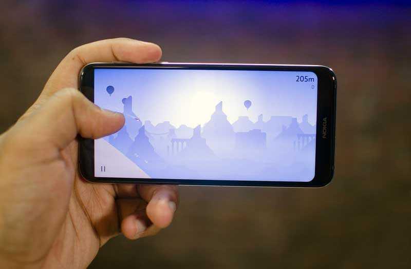 Nokia 7.1 игры