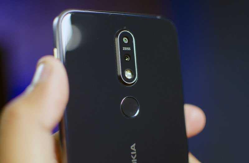 Камеры Nokia 7.1
