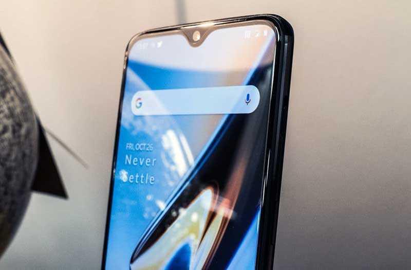 OnePlus 6T дизайн