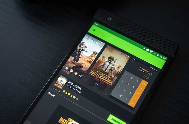 Razer Phone 2 игры